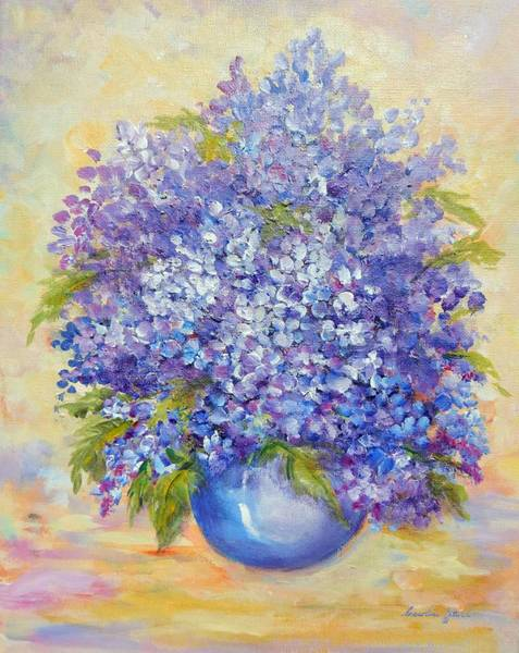 Painting - Lavender by Caroline Patrick