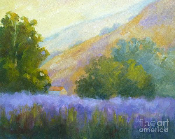 Painting - Lavender Field by Carolyn Jarvis