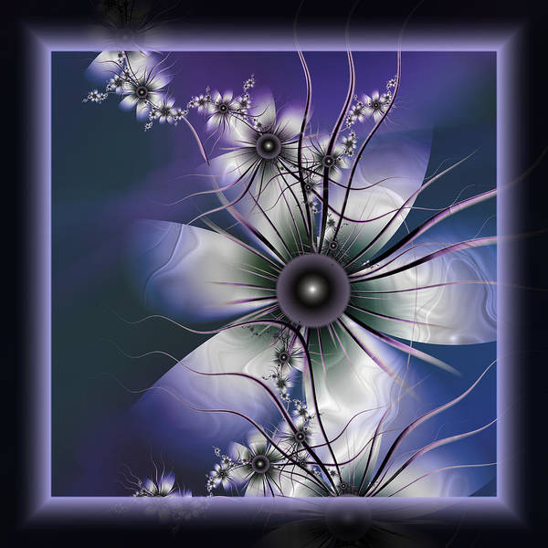 Digital Art - Lavender Glow by Karla White