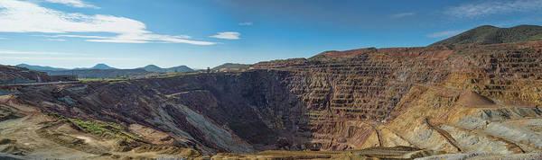 Photograph - Lavender Pit Mine by Dan McManus