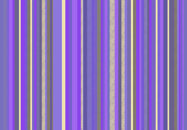 Digital Art - Lavender Twilight - Stripe Abstract by Val Arie