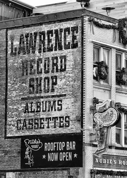 Wall Art - Photograph - Lawrence Record Shop Nashville - #1 by Stephen Stookey