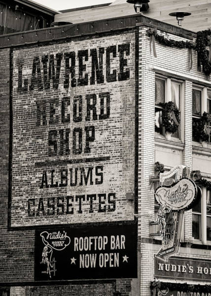 Wall Art - Photograph - Lawrence Record Shop Nashville - #3 by Stephen Stookey