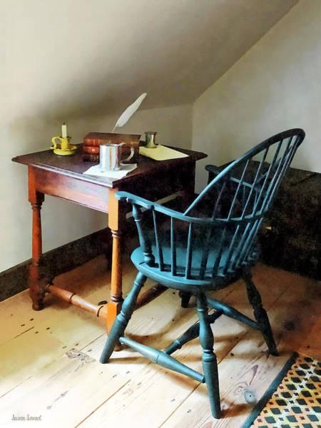 Photograph - Lawyer's Desk by Susan Savad