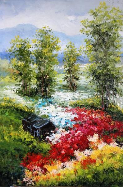 Primavera Painting - Lax-oil Msc 297 by Mario Sergio Calzi