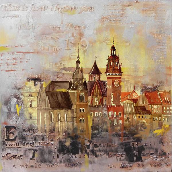 Poland Painting - Layalpur District Council 194 by Mawra Tahreem
