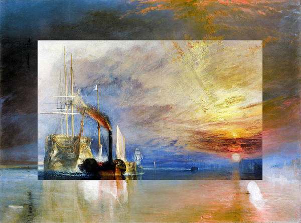 Digital Art - Layered 10 Turner by David Bridburg