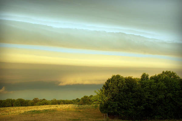 Photograph - Layered Clouds by Cricket Hackmann