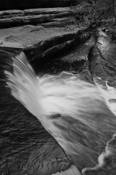 Photograph - Layered Waterfall by Sven Brogren