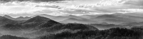 Photograph - Layers In The Smokies by Jon Glaser