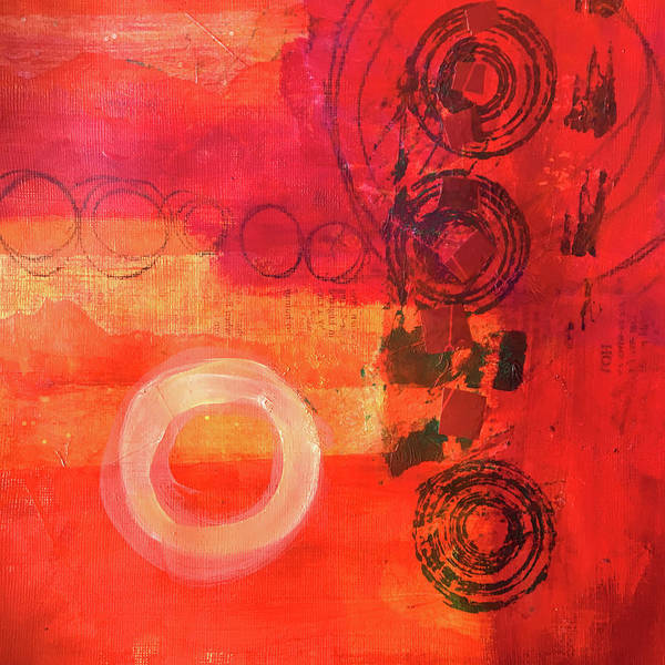 Painting - Layers No. 2 by Nancy Merkle