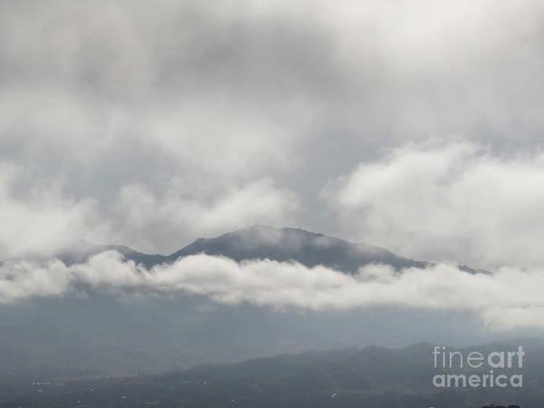 Mt. Diablo Wall Art - Photograph - Layers Of Fog by Suzanne Leonard