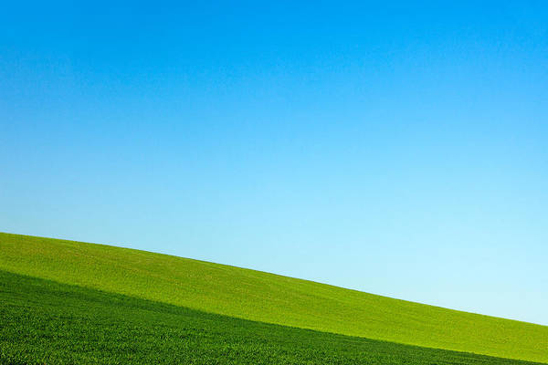 Photograph - Layers Of Green And Blue by Todd Klassy
