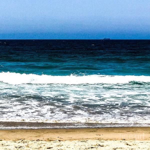 Photograph - Layers  Sand Beach Waves Ocean by Sheila Wenzel