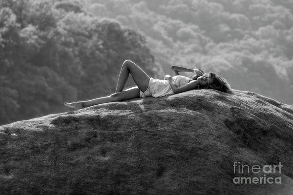 Photograph - Laying On The Rock by Dan Friend