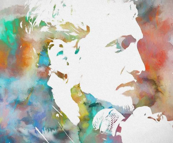 Wall Art - Painting - Layne Staley by Dan Sproul