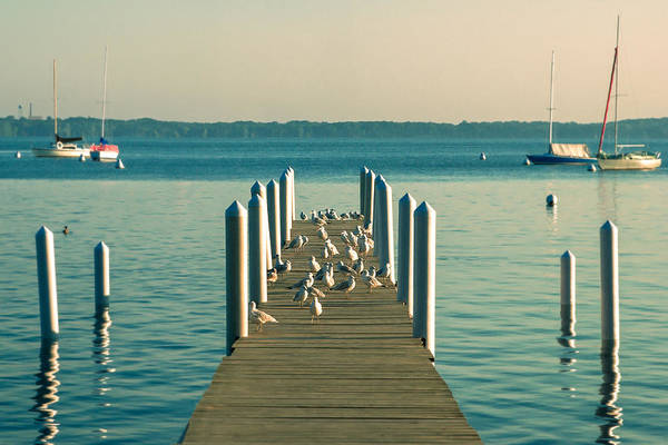 Wall Art - Photograph - Lazy Afternoon Pier by Todd Klassy