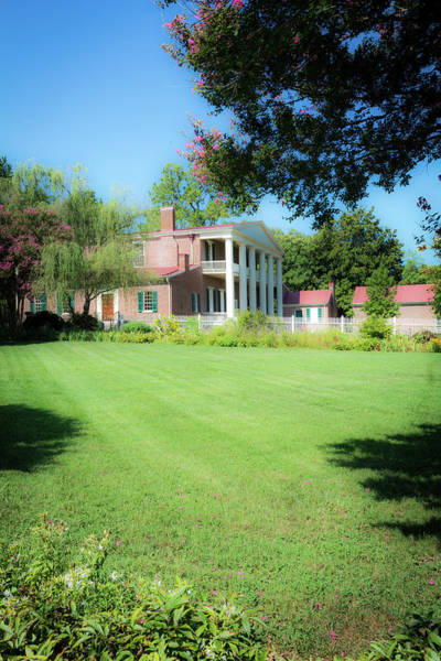 Photograph - Lazy Summer Day - The Hermitage by James L Bartlett
