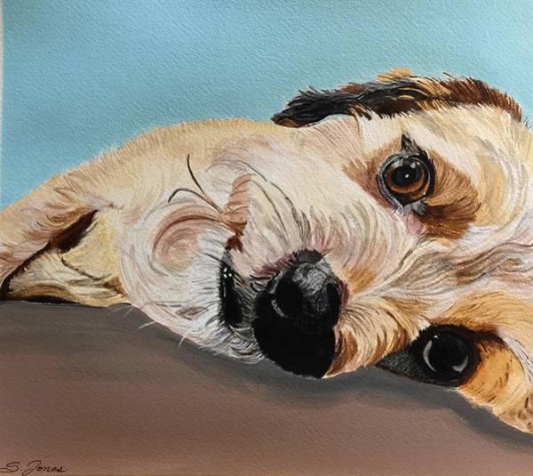 Painting - Lazy Sunday by Sonja Jones
