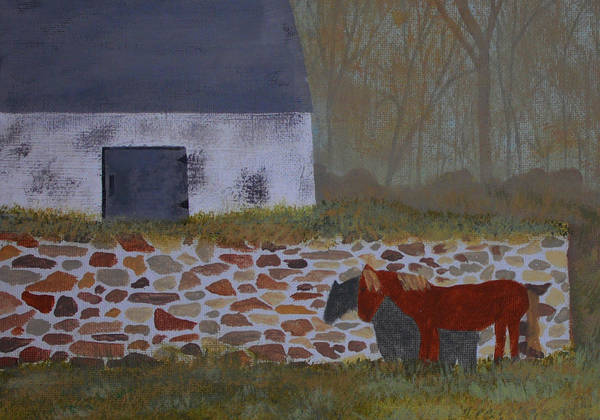 Wall Art - Painting - Lazy Time by Candace Shockley