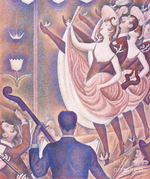 Wall Art - Painting - Le Chahut, 1890 by Georges Pierre Seurat