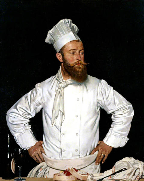Painting - Le Chef De L'hotel Chatham by William Orpen