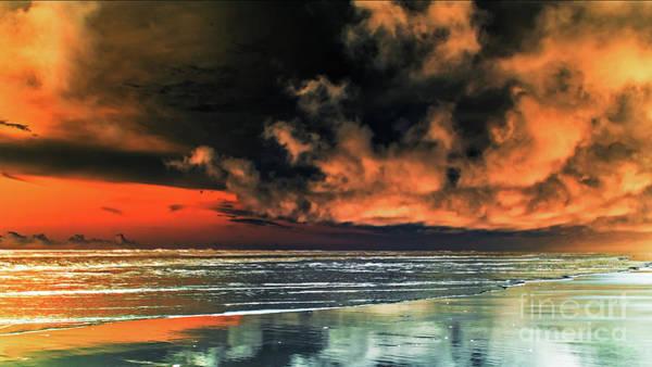 Photograph - Le Ciel Rouge_2 by Jorg Becker
