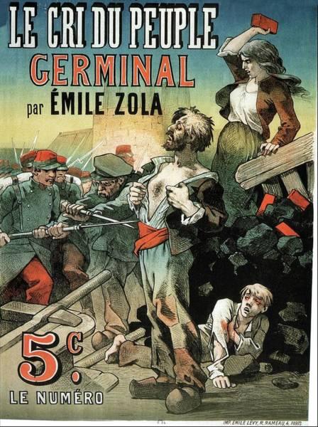 Art Nouveau Mixed Media - le Cri Du Peuple - Cerminal - Vintage Advertising Poster by Studio Grafiikka