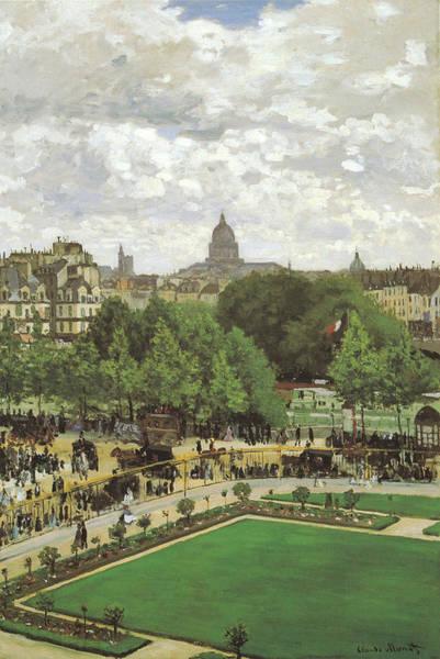 Claude Monet Photograph - Le Jardin De L Infante by Claude Monet