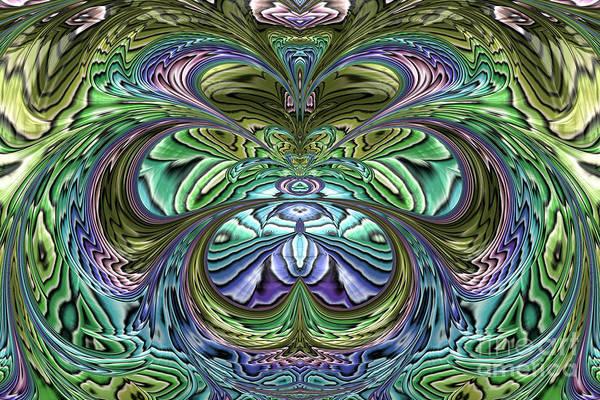 Pool Digital Art - Le Jardin Secret by John Edwards