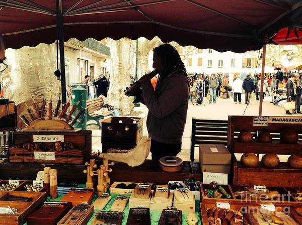 Dred Photograph - The Marketplace by France  Art