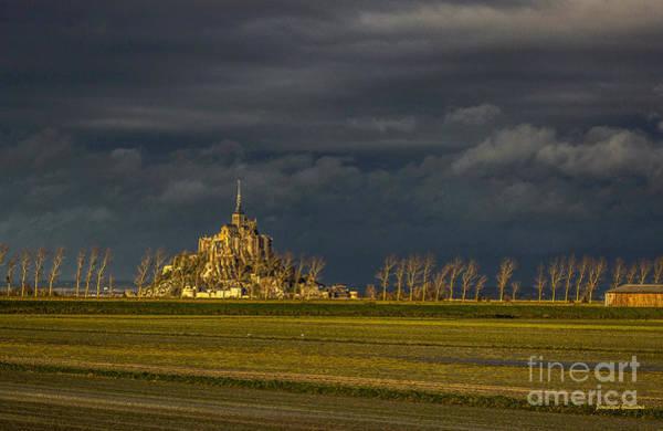 Photograph - Le Mont Saint-michel by Dominique Guillaume