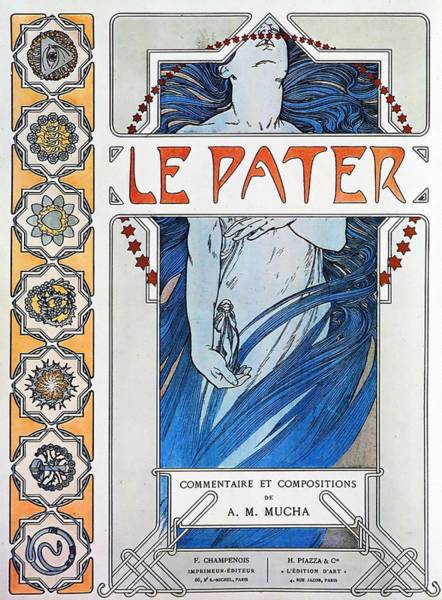 Painting - Le Pater by Alphonse Mucha