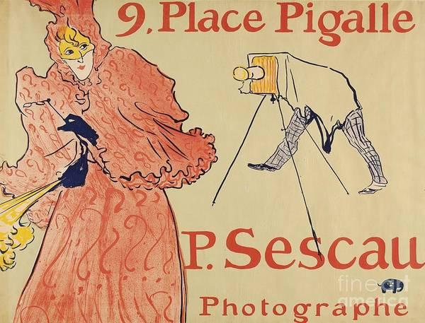 D.w Painting - Le Photographe Sescau by MotionAge Designs