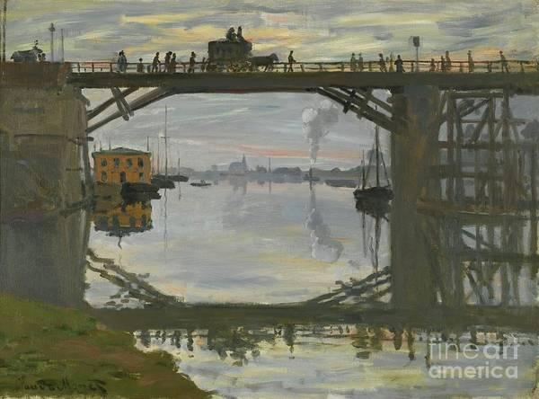 Painting - Le Pont De Bois by Claude Monet