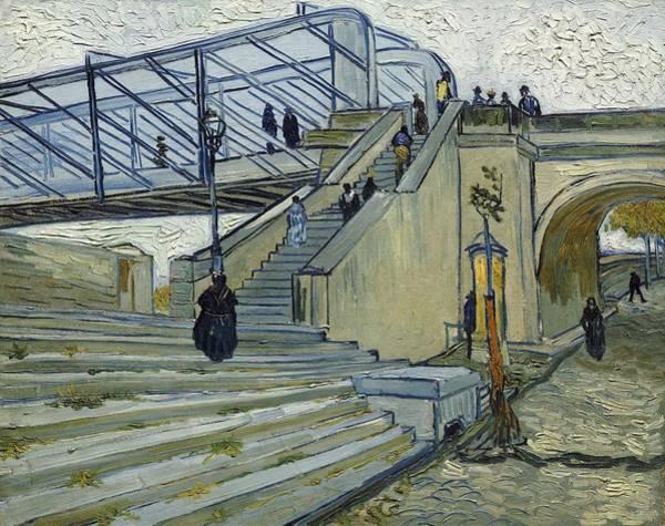 Painting - Le Pont De Trinquetaille by Artistic Panda