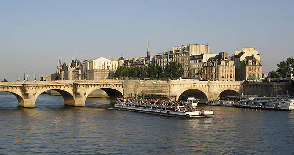 City Scape Photograph - Le Pont Neuf. Paris. by Bernard Jaubert