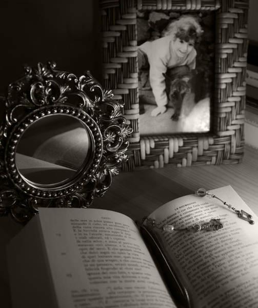 Memory Photograph - Le Ricordanze - G. Leopardi by Piera Polo