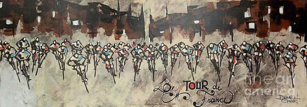 Le Tour De France Wall Art - Painting - Le Tour De France by Brasil Goulart