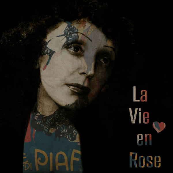 Wall Art - Digital Art - Le Vie En Rose  by Paul Lovering