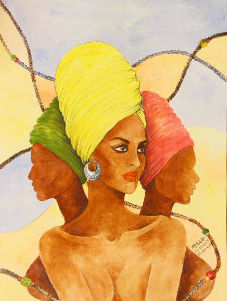 Painting - Leader Of Three by Mahlet