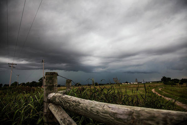 Wall Art - Photograph - Leading Into The Storm by Toni Hopper