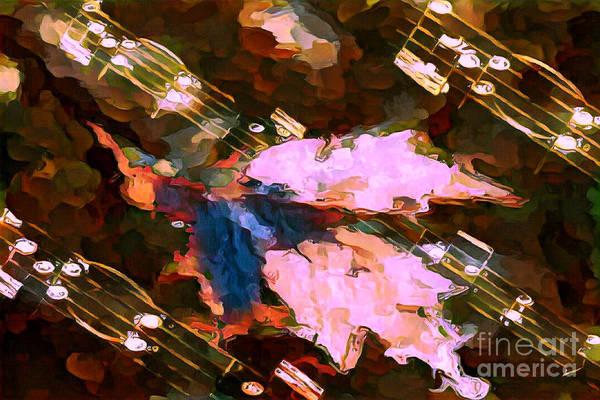Digital Art - Leaf Motif 2 by Lon Chaffin