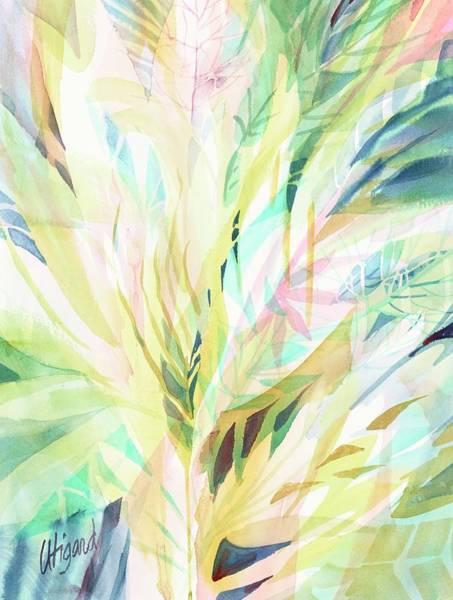 Painting - Leafy Flora by Carolyn Utigard Thomas