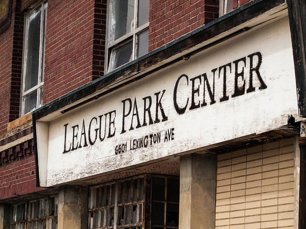 Photograph - League Park by Stewart Helberg