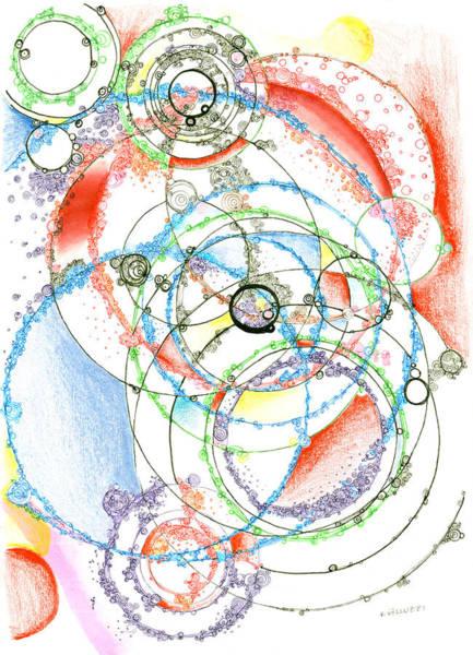 Drawing - Leaky Realities by Regina Valluzzi
