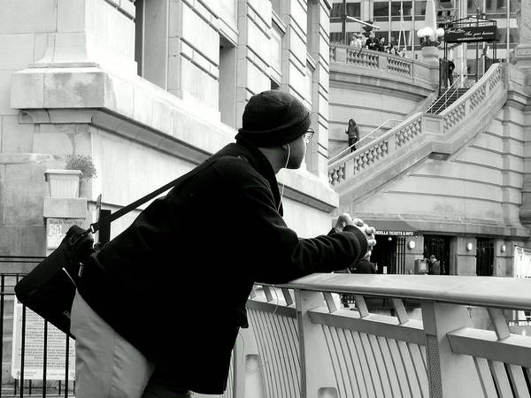 Photograph - Leaning ... Waiting by Wild Thing