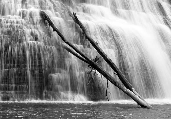 Photograph - Leaning Falls by Robert Och