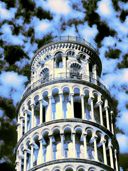 Photograph - Leaning Tower by Dominic Piperata