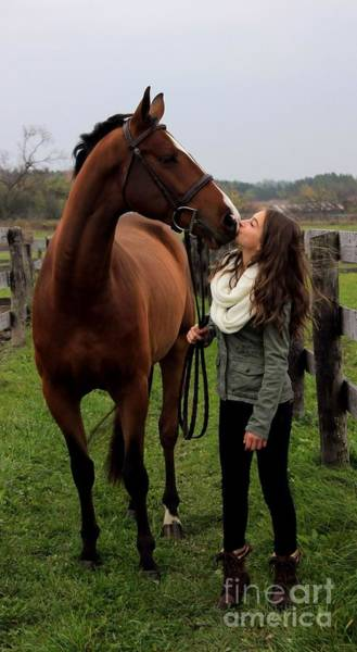 Photograph - Leanna Gino 25 by Life With Horses
